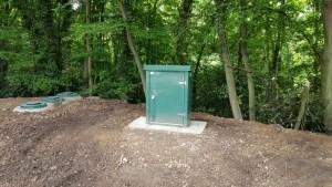 Installed Sewage Treatment Plant